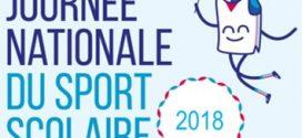 JOURNEE NATIONALE DU SPORT SCOLAIRE (26/09/2018)